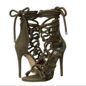 8c1ab362635 Steve Madden Shoes - Steve Madden Dancin Rope Cage Sandals